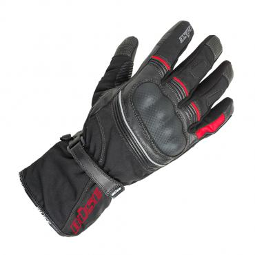 BÜSE Toursport touring glove black/red size 08