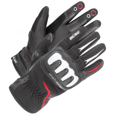 BÜSE Open Road sport glove black/red size 08