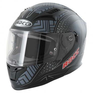 ROCC 332 integral helmet matt black/grey size S