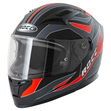 ROCC 333 integral helmet matt grey/red size XS