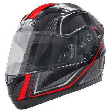 ROCC 414 integral helmet black/red size M
