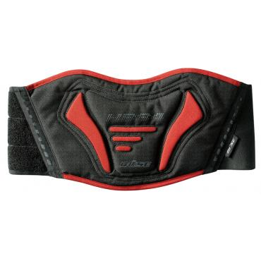 BÜSE Taslan kidney belt black red size S