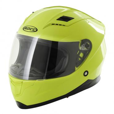 ROCC 41 JR. integral helmet Kids neon yellow size 48